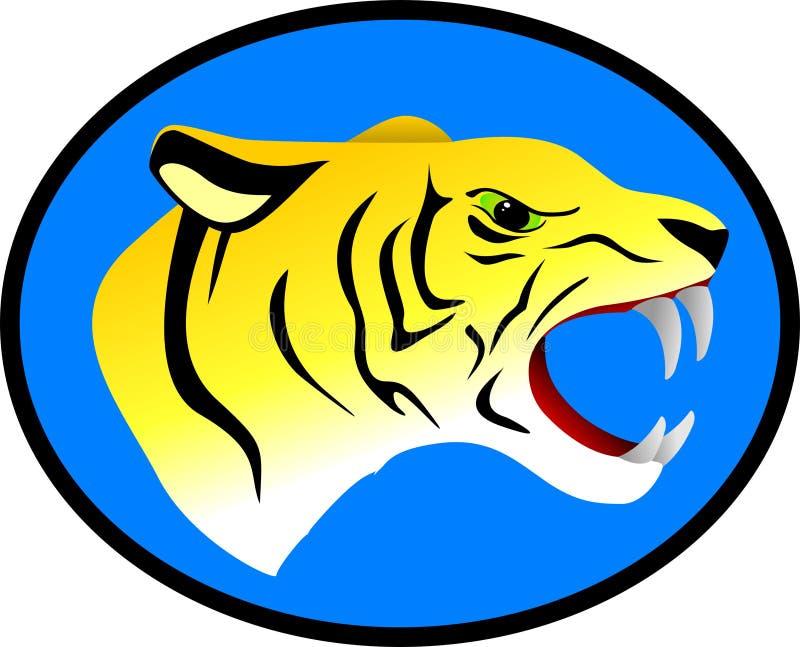 Download Vector ferocious tiger stock vector. Illustration of mammal - 14501998