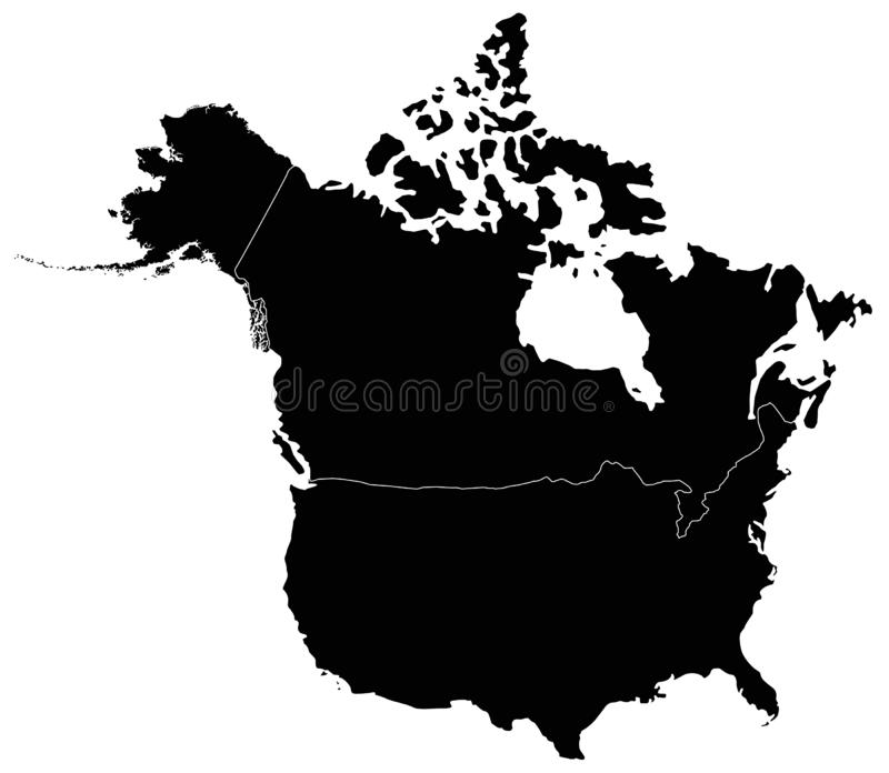 Canada Maps And Flag - Country In North America Stock Vector ...
