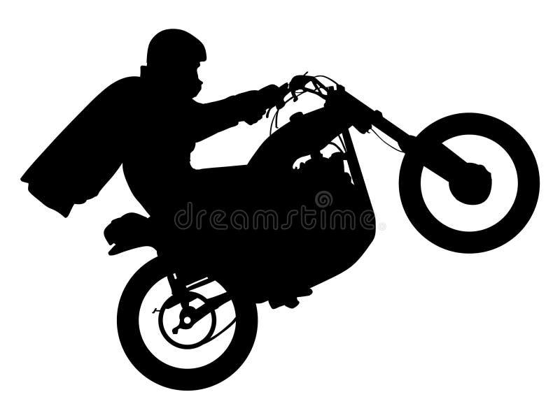 Dirt stunt bike eps file by crafteroks royalty free illustration