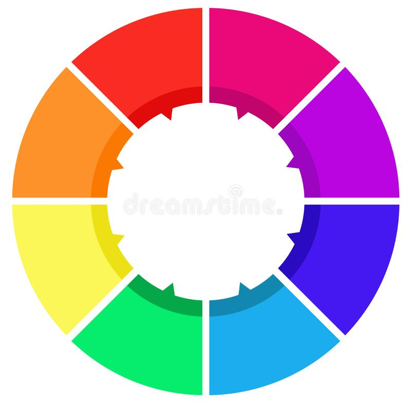 Design element, icon. Vector file of design element - design elements are the basic units of any visual design which form its structure and convey visual vector illustration