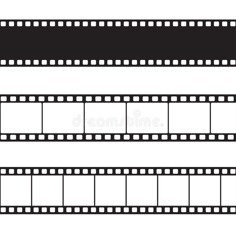 Free Vector Film Strip Illustration Stock Photo - 35788540