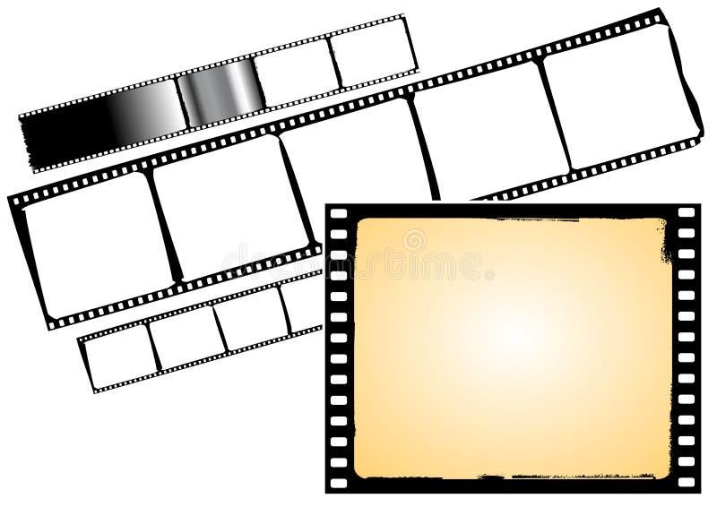 Vector FIMstrook en frame vector illustratie
