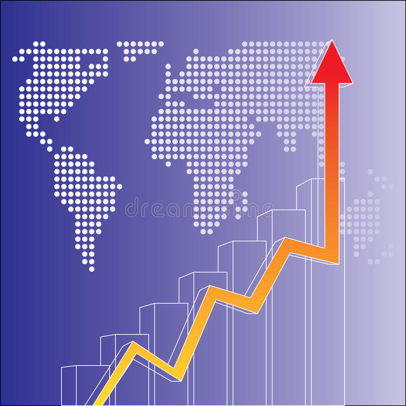 Vector financial vector illustration