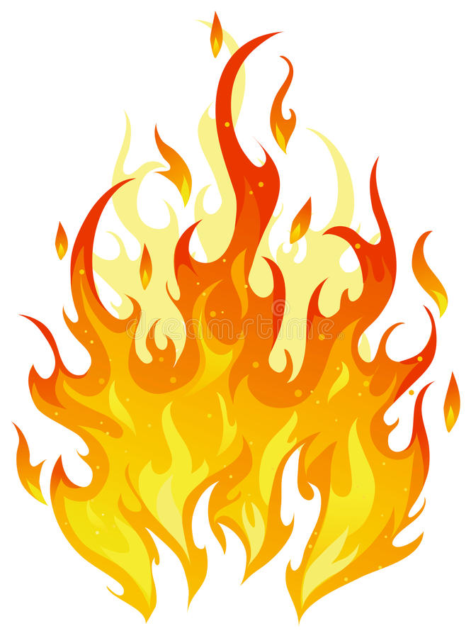 Download Vector fire stock vector. Illustration of inferno, background - 10821017