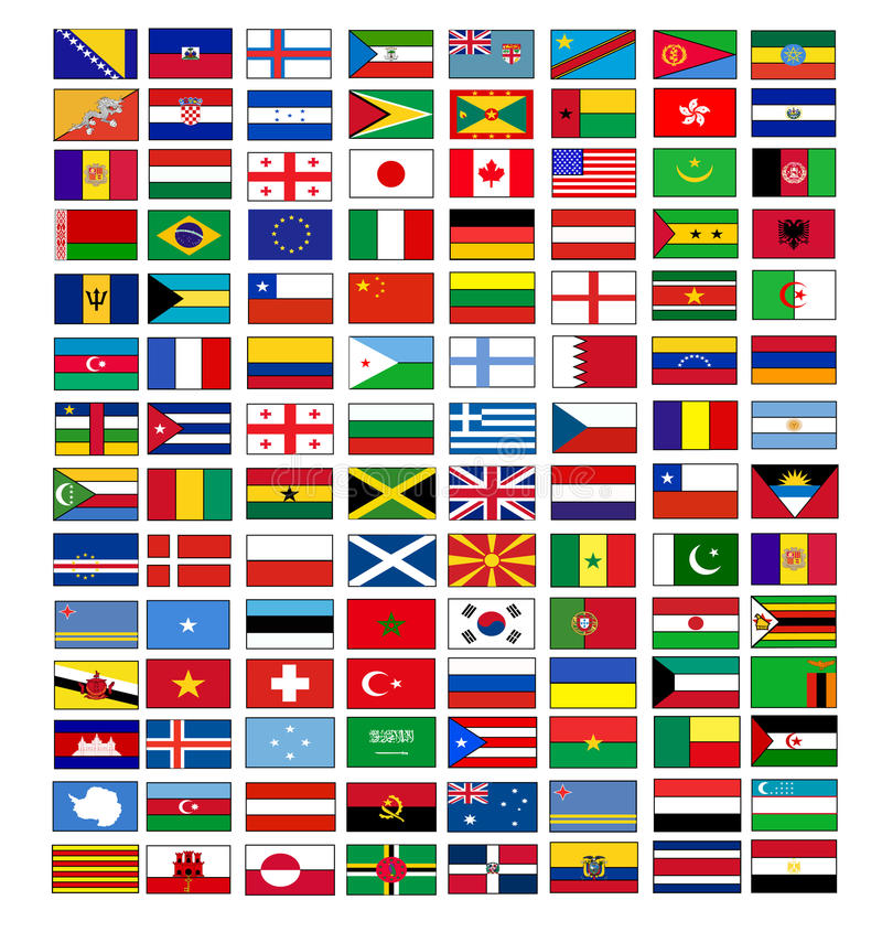 Free Vector Flags Stock Images - 9564264