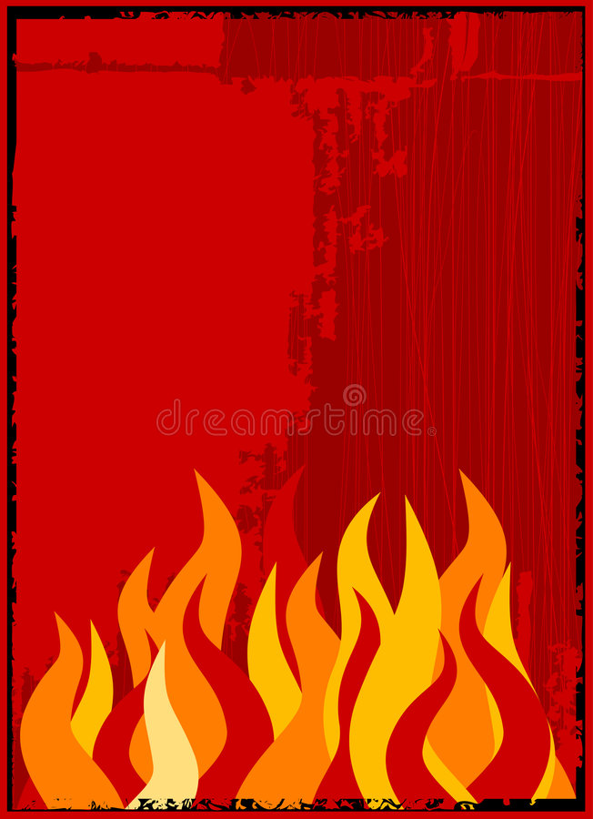 Download Vector flame background stock vector. Image of image, flame - 2302991
