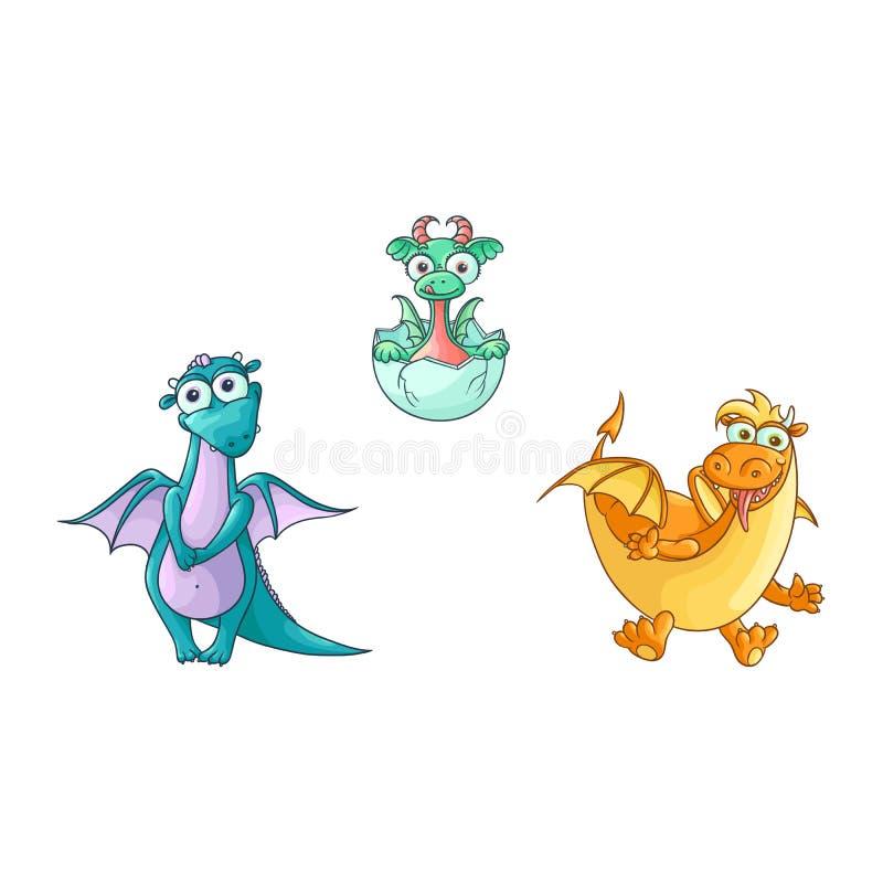 Flying Fairy Dragon Cartoon Stock Illustrations 578