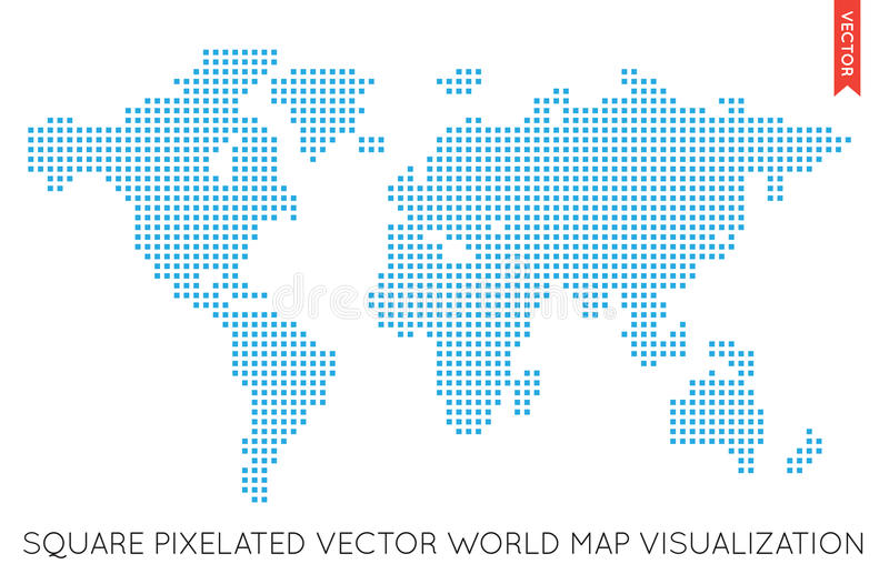 Vector flat world map infographic map of the world stock vector download vector flat world map infographic map of the world stock vector illustration gumiabroncs Images