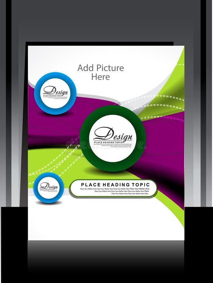 Free Vector Flayer Design Royalty Free Stock Photos - 32745428