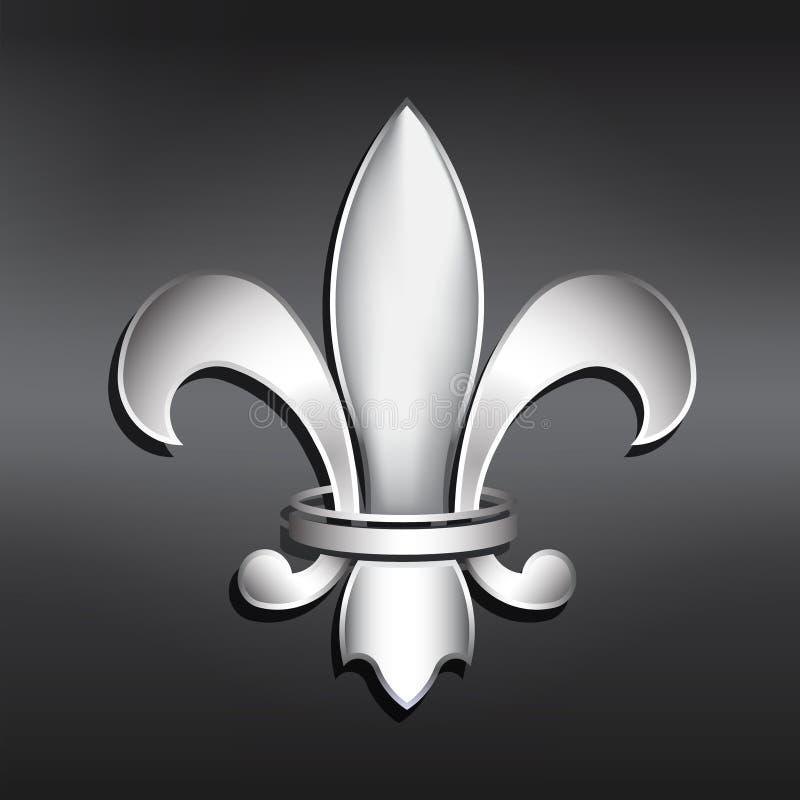 Vector Fleur de Lis. royalty free stock photos