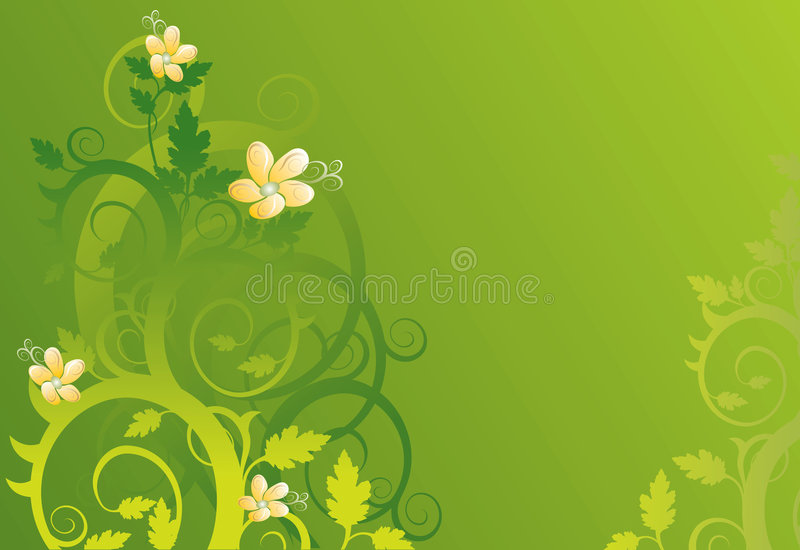 Download Vector Floral Background stock vector. Image of conceptual - 1718999