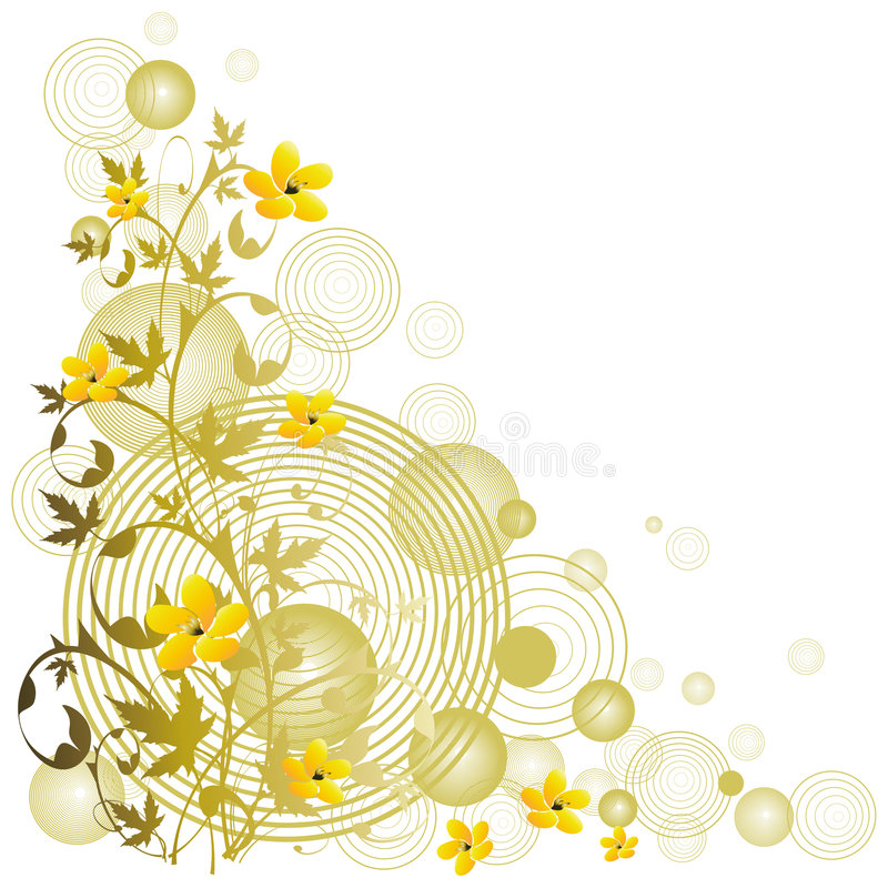 Download Vector Floral Background Royalty Free Stock Photos - Image: 1719018