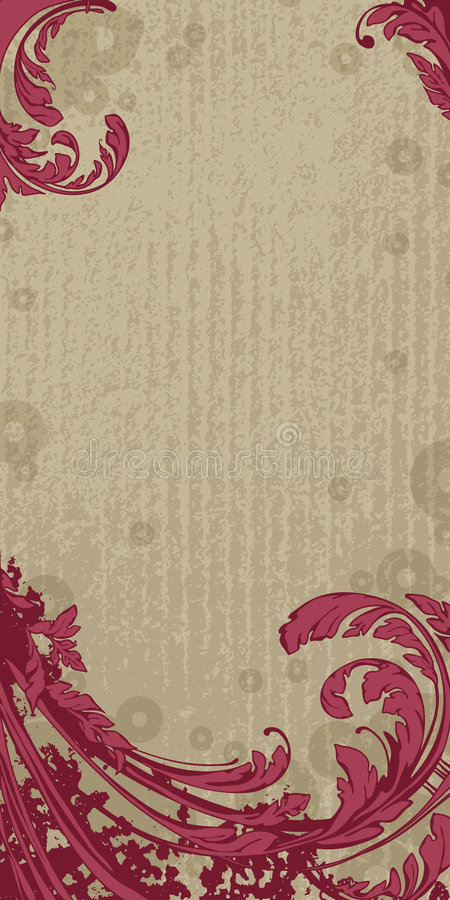 Download Vector floral background stock vector. Image of color - 1842954
