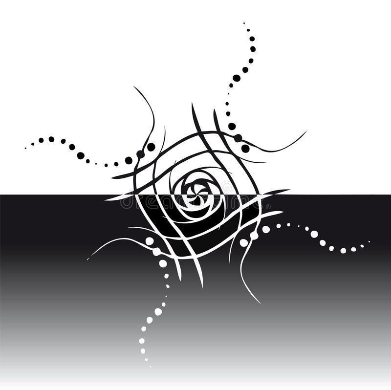 Download Vector floral background stock illustration. Image of tribal - 8514461