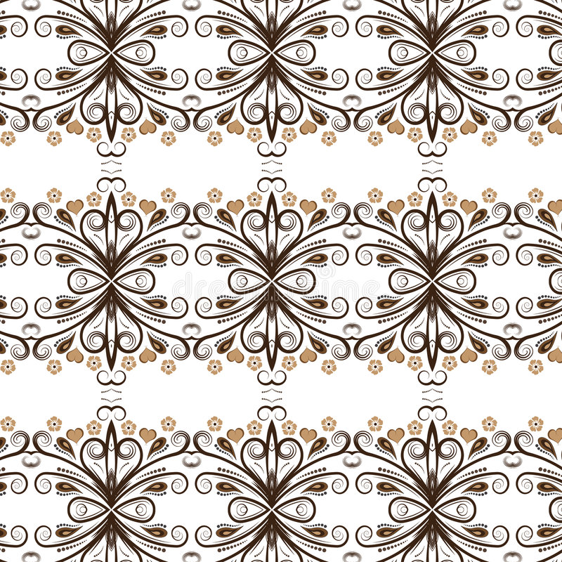 Vector floral background desig royalty free illustration