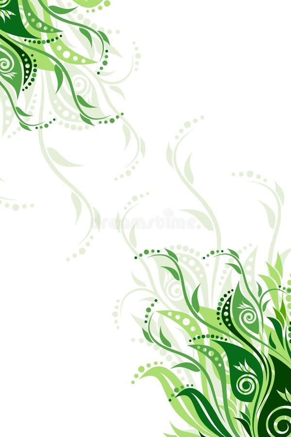 Vector floral background illustration stock image