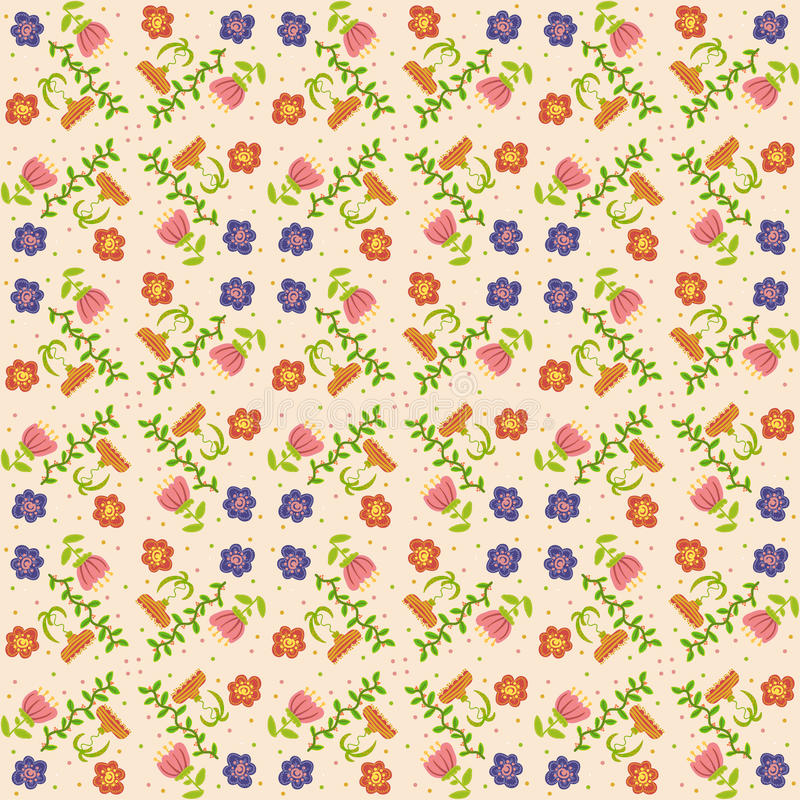 Download Vector  Floral Background, Pattern Stock Vector - Image: 34442500