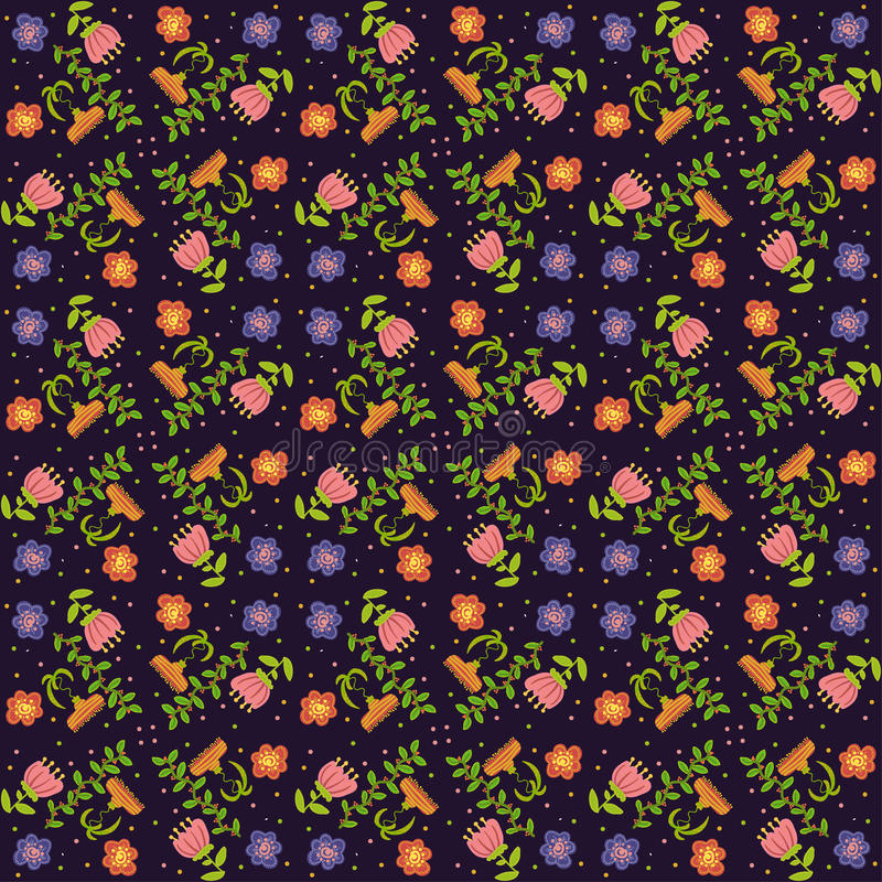 Download Vector  Floral Background, Pattern Stock Vector - Image: 34442502