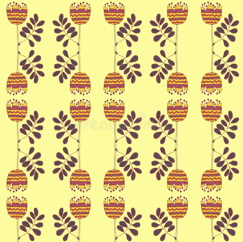 Download Vector  Floral Background, Pattern Stock Vector - Image: 34442595