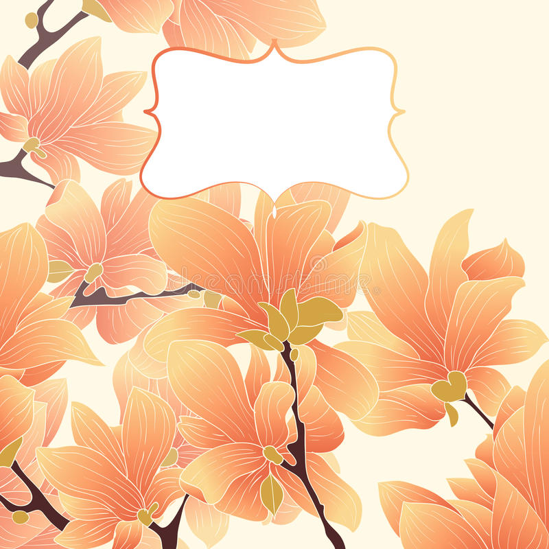 Download Vector floral border stock photo. Image of floral, decoration - 26988114