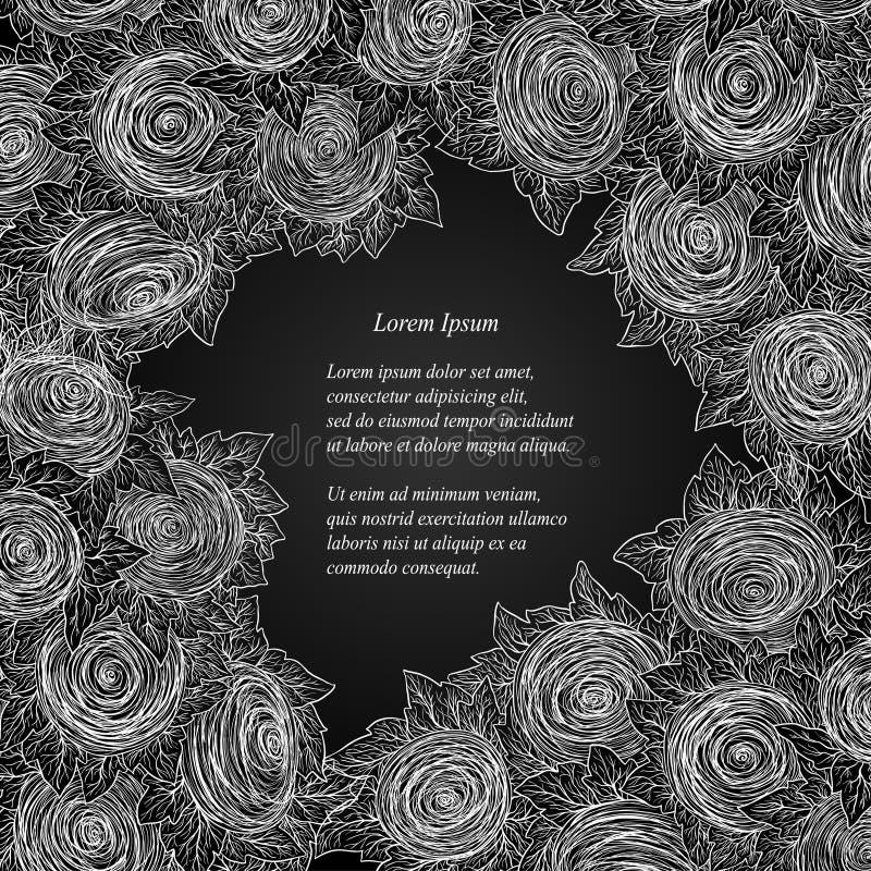 Download Vector Floral Decorative Background. Stock Illustration - Image: 37058033