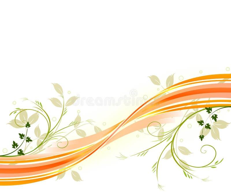 Vector floral del beckground libre illustration
