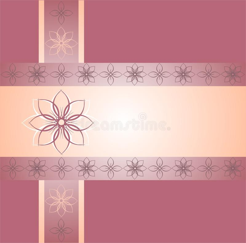 Download Pink Floral Ornamental Borders Stock Vector - Illustration of flowers, borders: 30097413