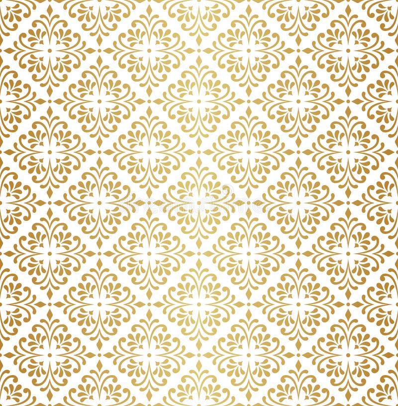 Vector Floral Ornamental Seamless Pattern. Geometric Flower Stylish Texture. Abstract Retro Tile Texture. Decorative Tiles Vector Seamless Pattern. Portuguese vector illustration