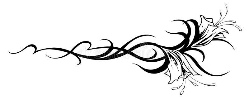 Vector flower vector illustration