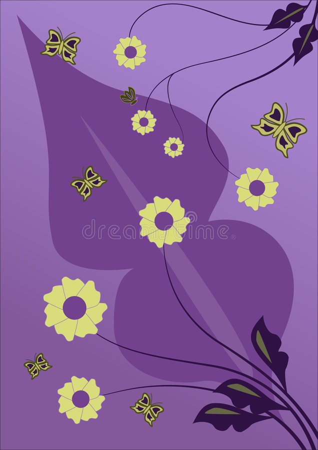 Free Vector Flower Design Stock Photos - 2654753