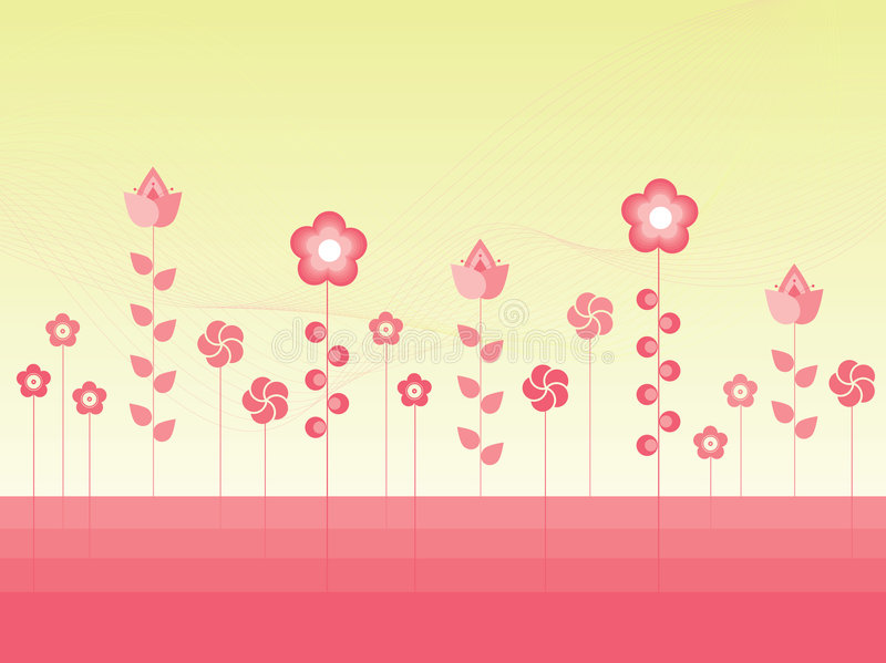 Download Vector Flowers stock vector. Illustration of light, image - 5293588