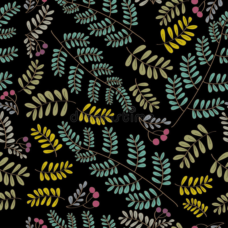 Download Vector foliage pattern stock vector. Illustration of greens - 22463137