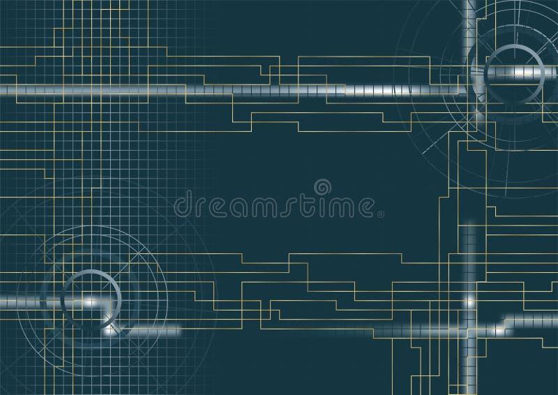 Vector - fondo técnico   fotografía de archivo libre de regalías