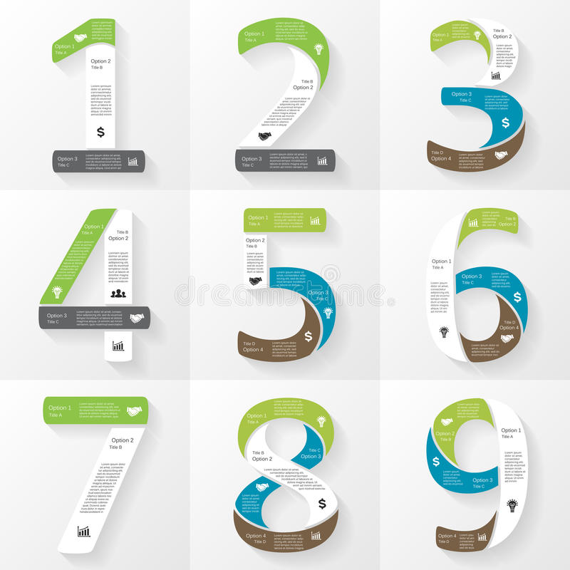 Vector font infographic diagram with numbers stock vector download vector font infographic diagram with numbers stock vector illustration of alphabet chart ccuart Images