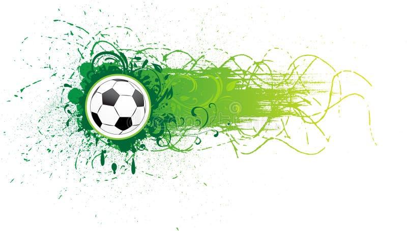Vector football banner. stock illustration