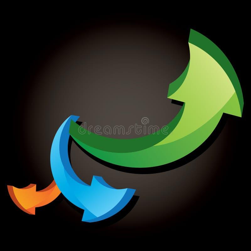 Download Vector form of arrows stock vector. Illustration of arrow - 28931104