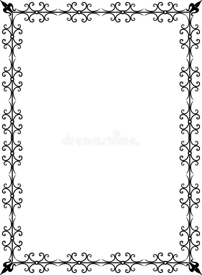 Vector frame royalty-vrije illustratie