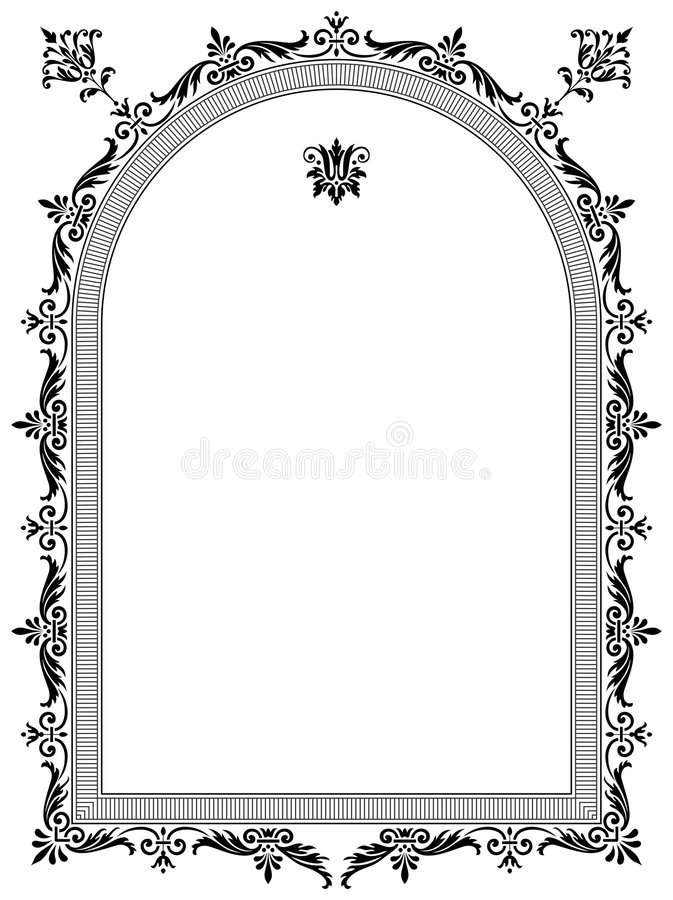 Vector frame vector illustration