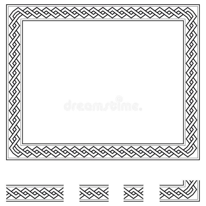 Vector frame stock illustration