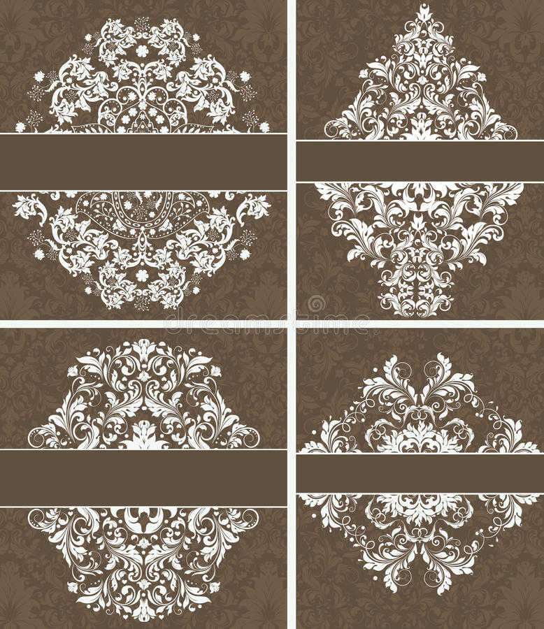 Vector Frame Set vector illustration