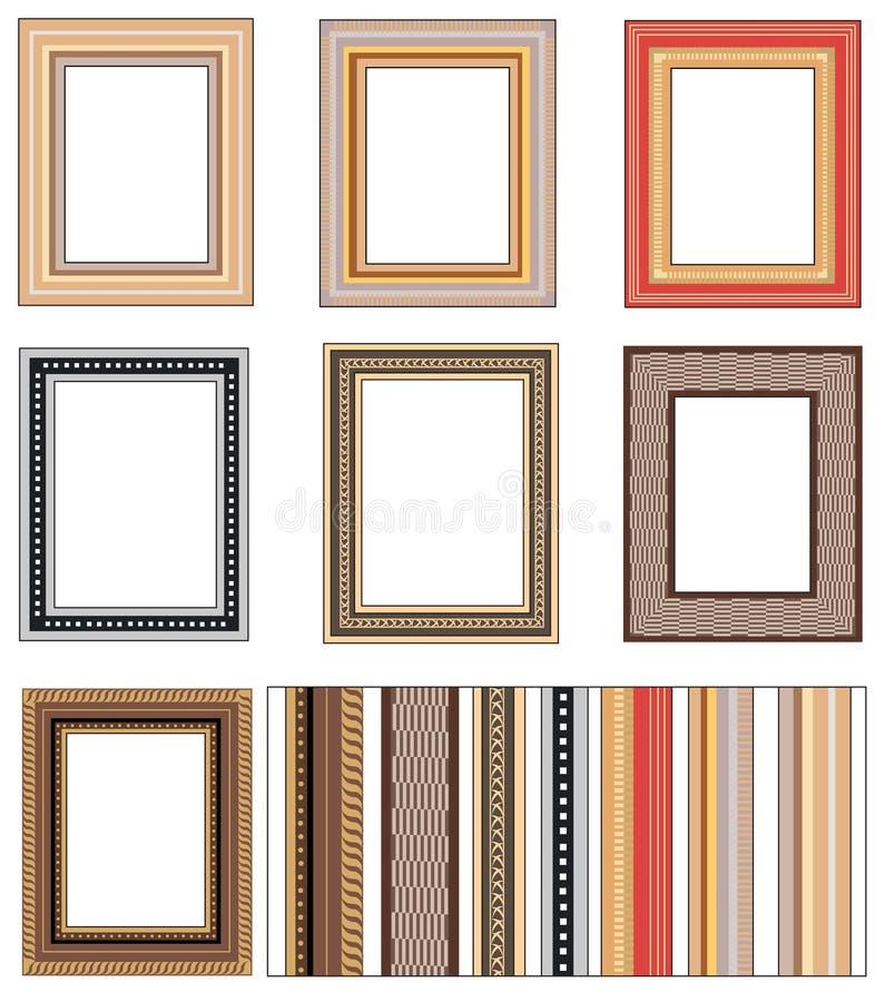 Free Vector Frames On The Wall 2 Stock Photos - 5007863
