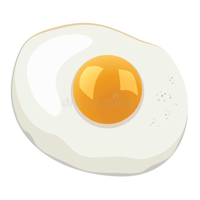 vector fried egg vector illustration