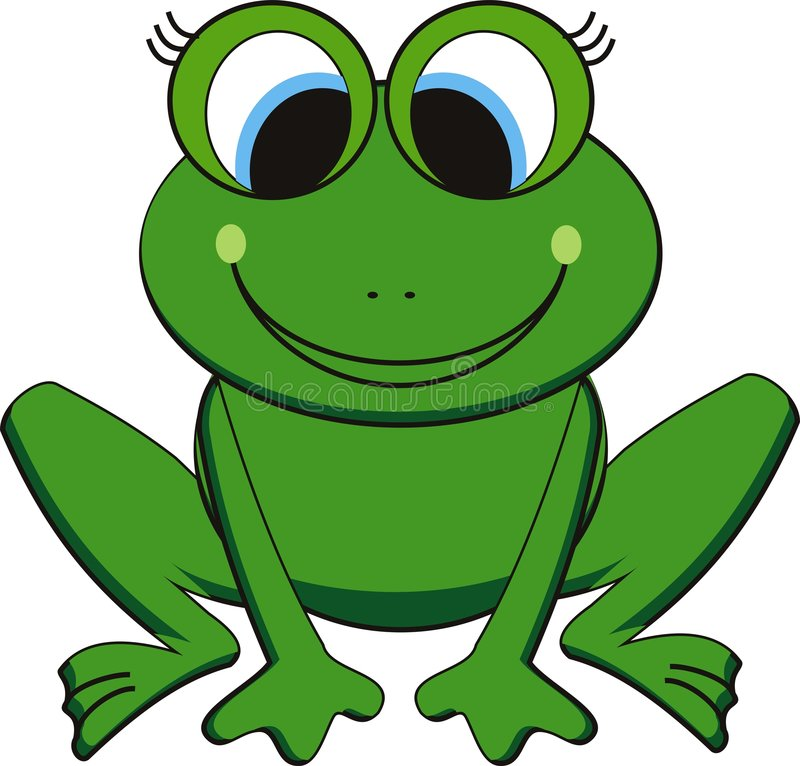 Download Vector frog stock vector. Illustration of painted, reptile - 7735103