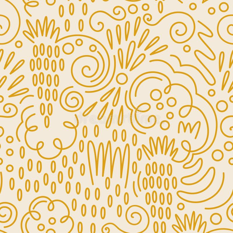 Vector fruit seamless pattern in Doodle style. Grape. Vector fruit seamless pattern in Doodle style vector illustration