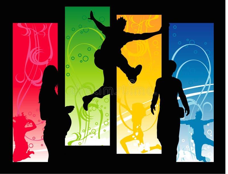 Download Vector Fun People Illustration Stock Vector - Image: 4618919