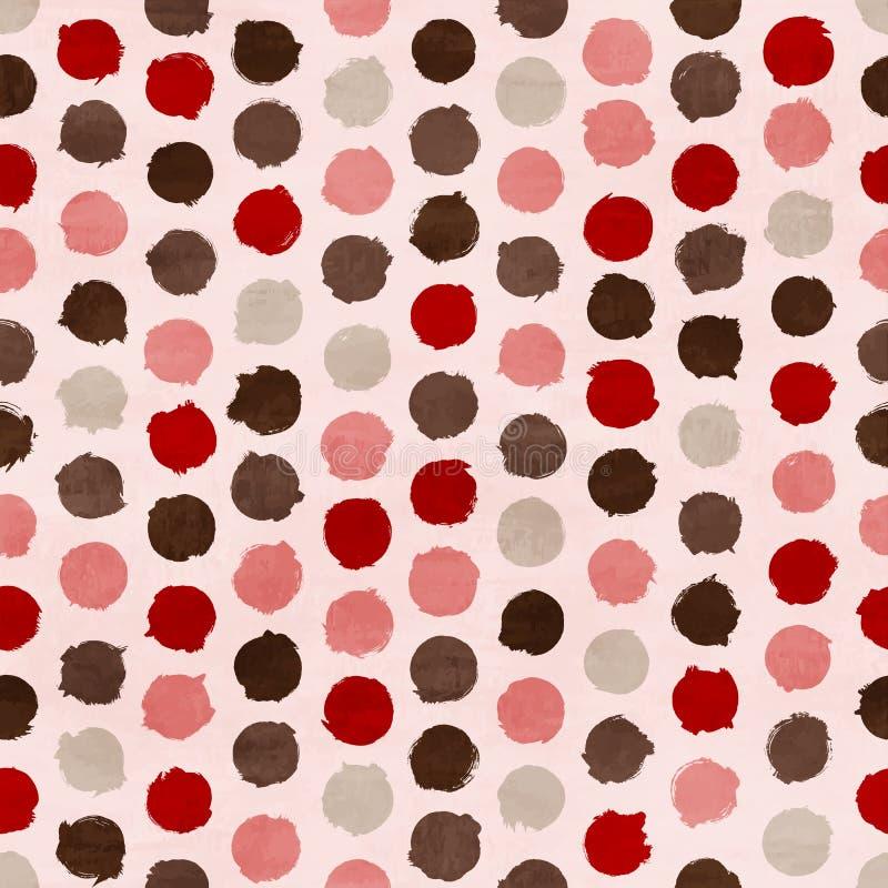Vector funky retro seamless pattern vector illustration