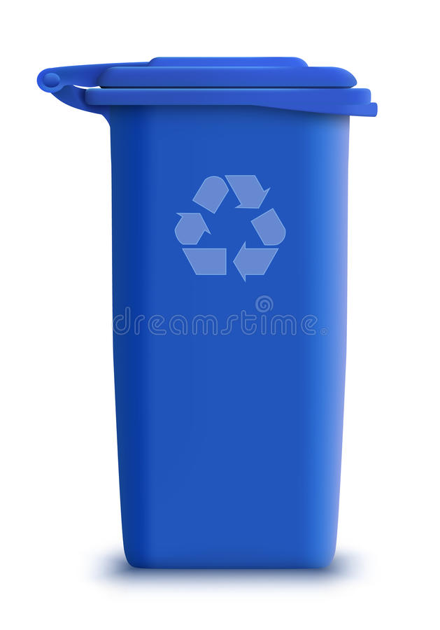Download Vector garbage can recycle stock vector. Image of cycle - 18576698