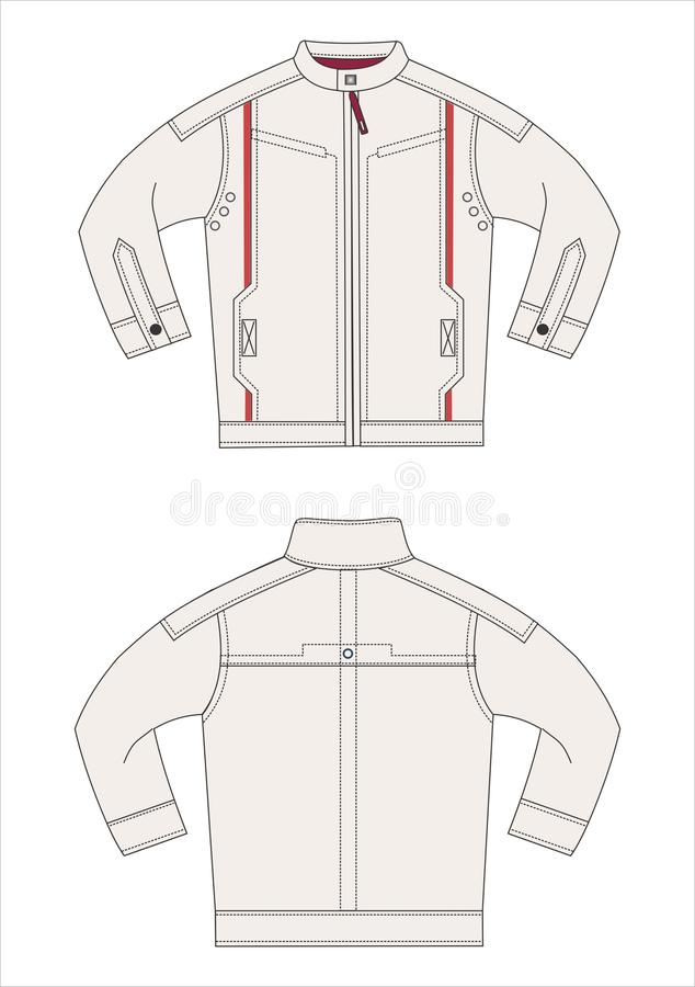 Outerwear VECTOR templates stock vector. Illustration of graphic ...