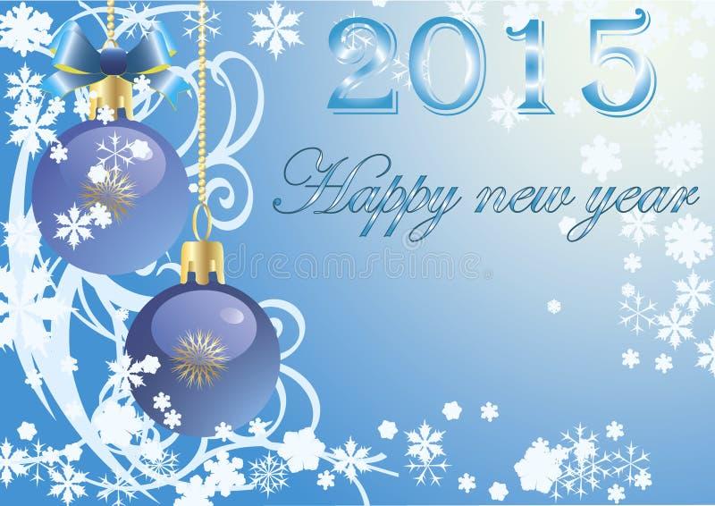 Vector Gelukkig Nieuwjaar royalty-vrije stock afbeeldingen