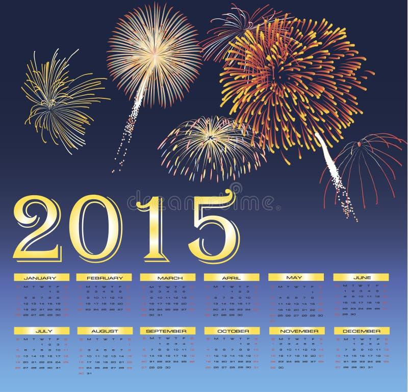 Vector Gelukkig Nieuwjaar royalty-vrije stock foto's